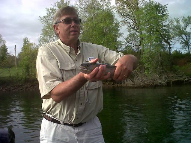 Branson fishing guide lake taneycomo trout report for Lake taneycomo trout fishing